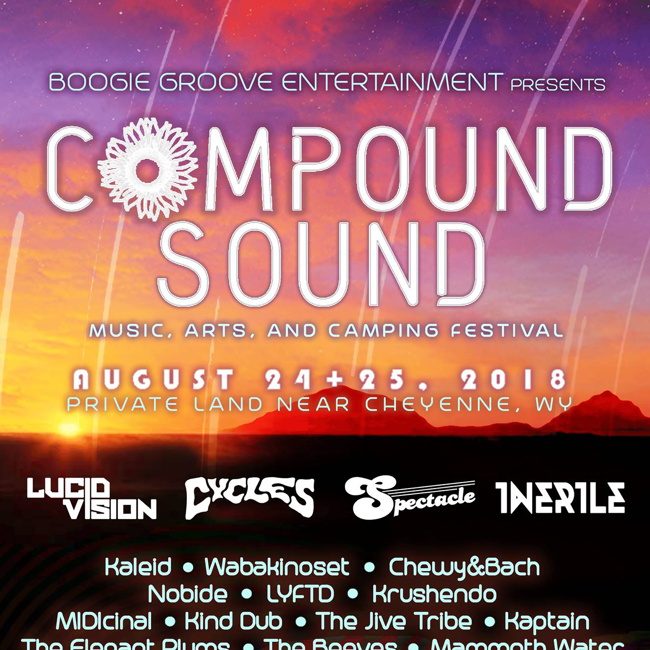 From Throwing Small Events To Producing A Festival: James Bedwell Talks Compound Sound Festival