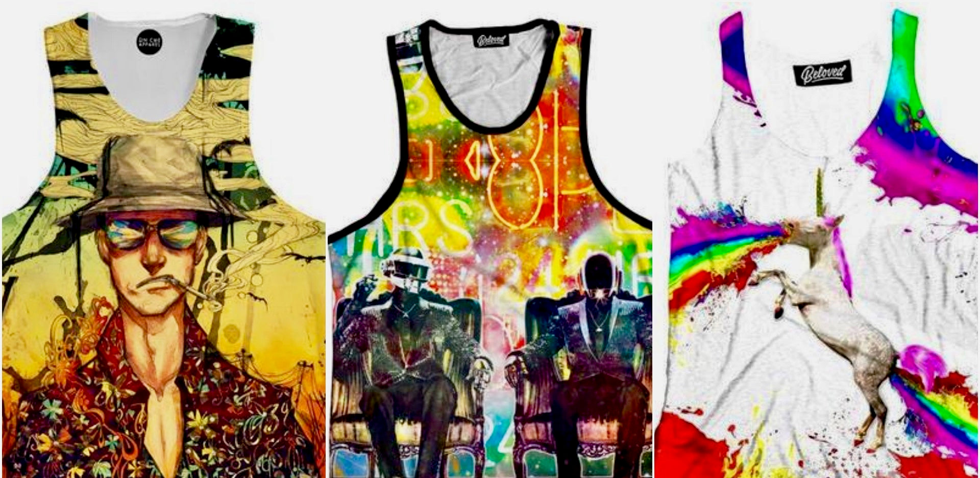 7 Lucky Tank Tops You Need For Edc Las Vegas Iedm On Blast