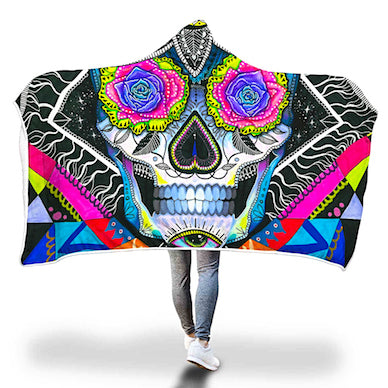 10 Mesmerizing Hooded Blanket Designs