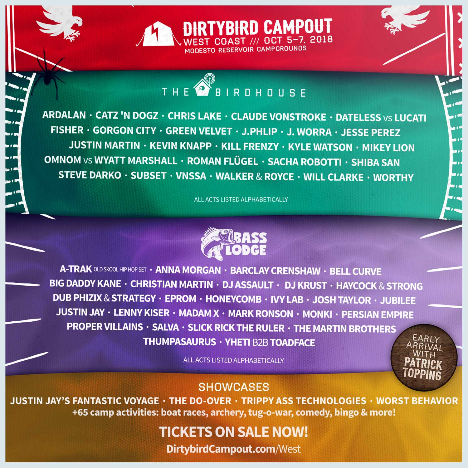 10 Anticipated Sets At Dirtybird Campout 2018