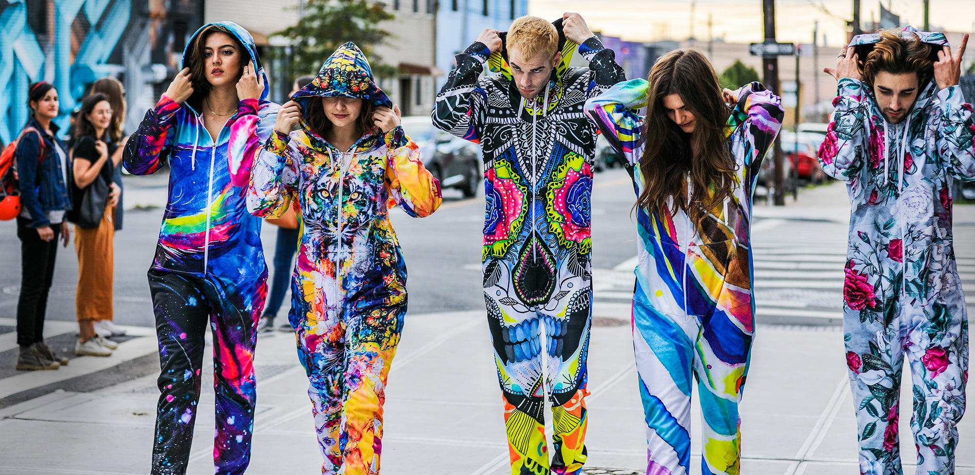 be37dd4f2 Top 10 Most Colorful Onesies For Winter And Festival Season | iEDM ...