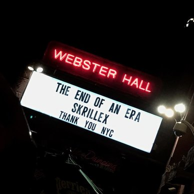 New York's Iconic Webster Hall Closes Doors