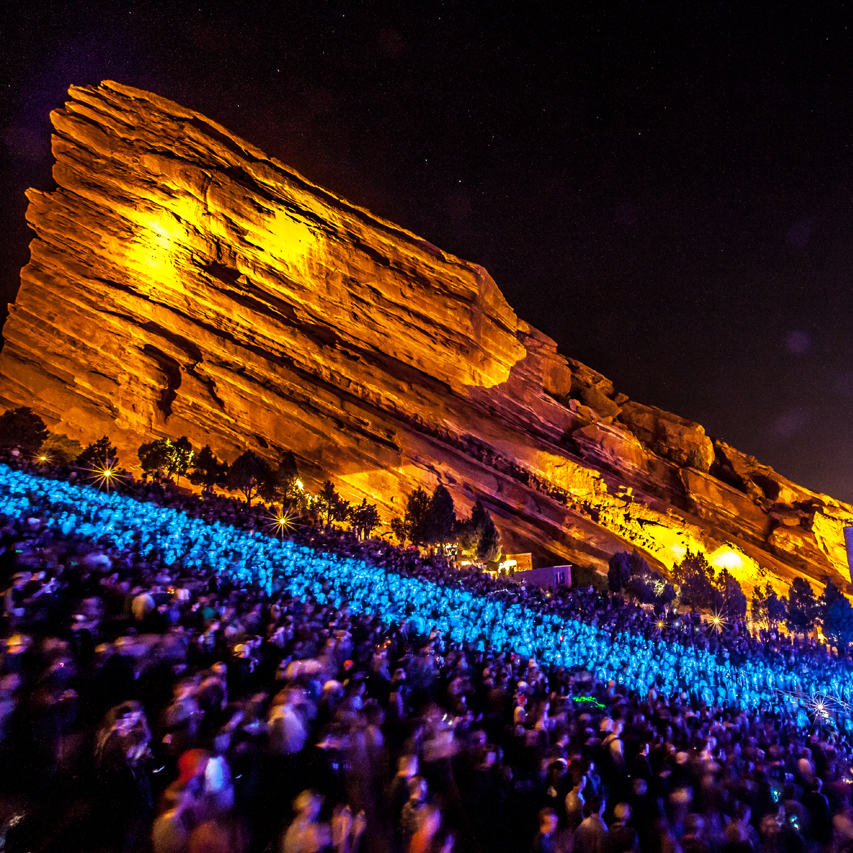 10 Electronic Red Rocks Shows Worth Traveling For