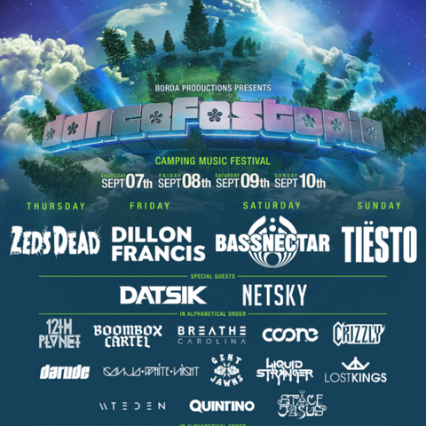 Why Dancefestopia Will Be A Top EDM Event Of 2017 And Here's How To Win VIP Tickets
