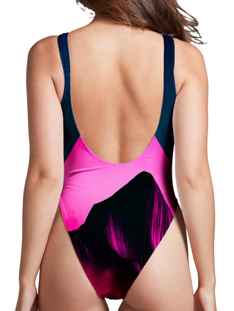 Adam Priester - Enkidu High Cut One-Piece Swimsuit
