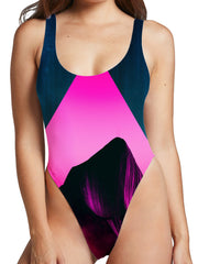 Adam Priester Enkidu High Cut One-Piece Swimsuit