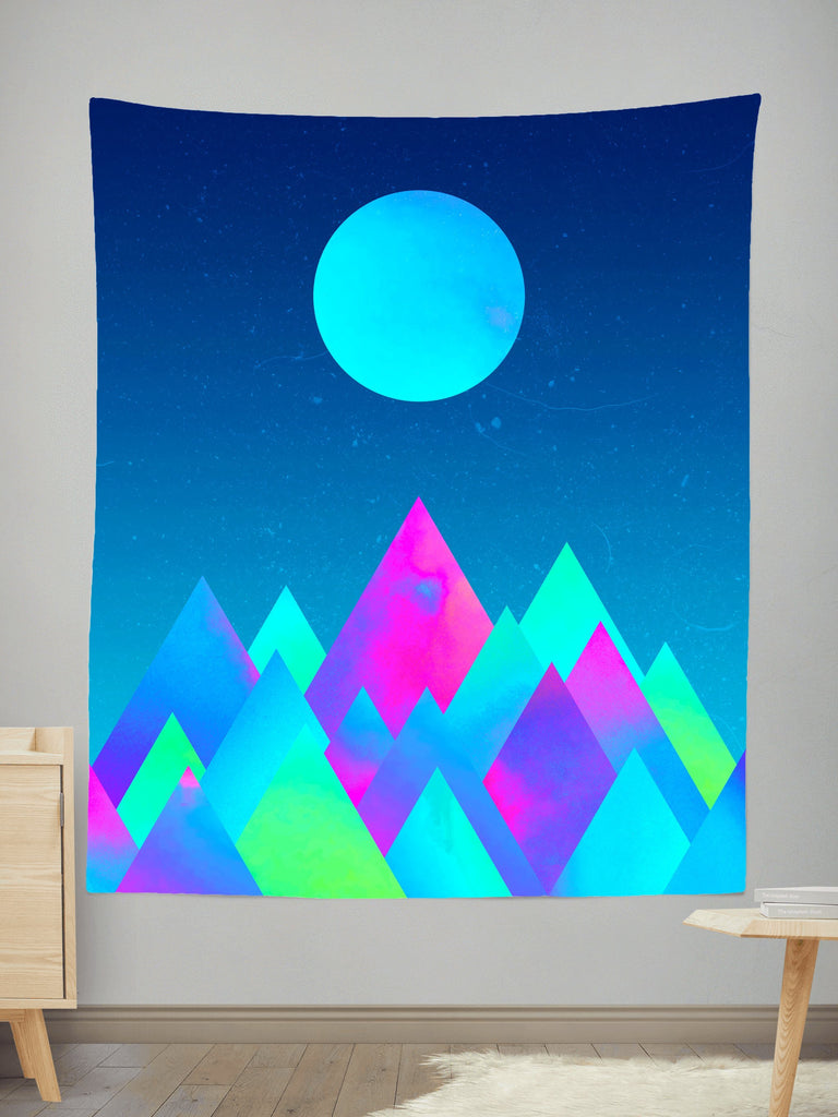 Adam Priester Moon Mountain Tapestry