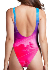 Adam Priester Starseeker High Cut One-Piece Swimsuit