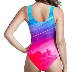 Adam Priester Starseeker Low Cut One-Piece Swimsuit
