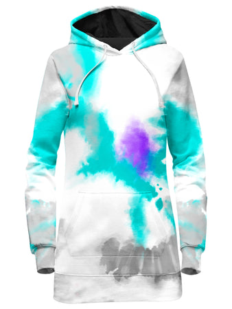 iEDM - 90s Filtered Hoodie Dress and Leggings Combo