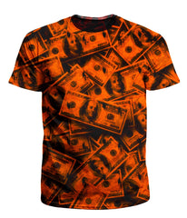 Big Tex Funkadelic Orange Grunge Money Men's T-Shirt