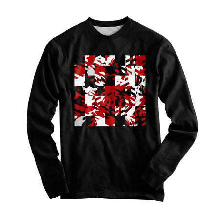 Big Tex Funkadelic - Red Digital Graphic Long Sleeve