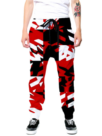 Big Tex Funkadelic - Red Digital Joggers
