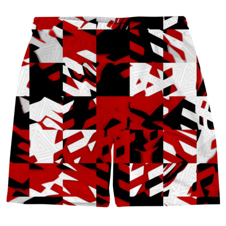 Big Tex Funkadelic - Red Digital Weekend Shorts