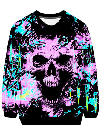 Big Tex Funkadelic - Skull Graffiti Sweatshirt