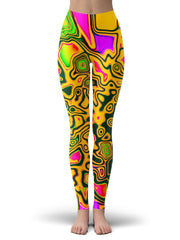 Big Tex Funkadelic Splash Of The 90s Leggings