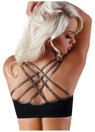 Body Zone Apparel - Barbed Wire Web Back Top