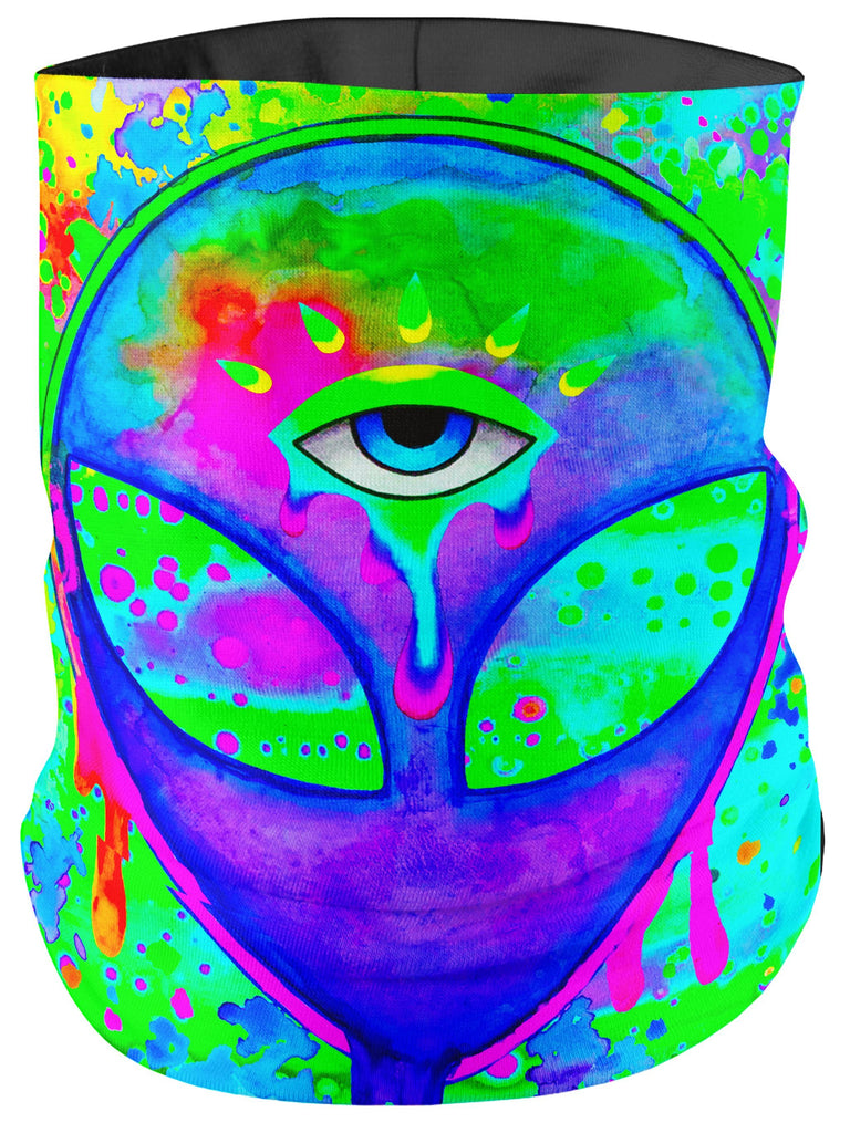 BrizBazaar Alien Melt Purple Bandana Mask
