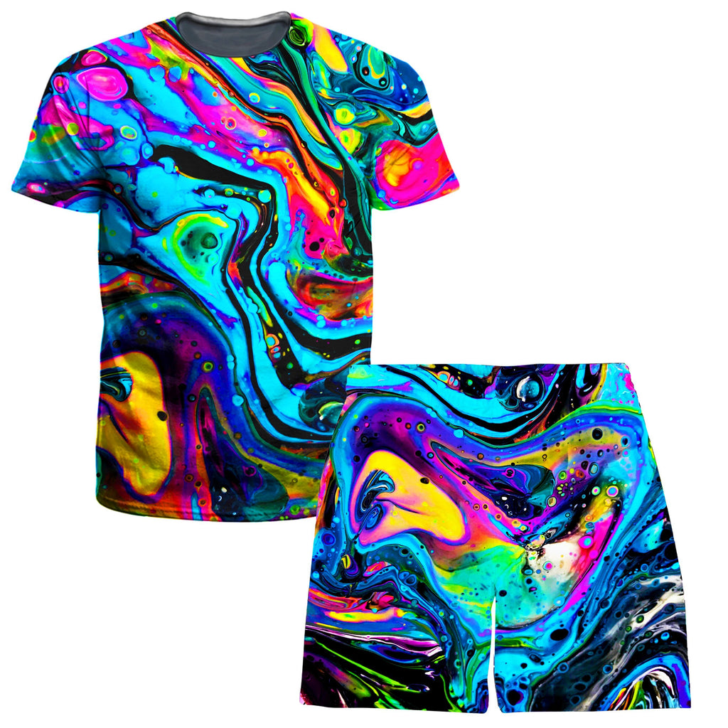 BrizBazaar Funkadelic T-Shirt and Shorts Combo