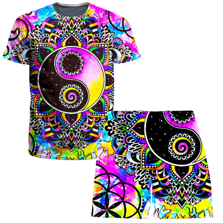 BrizBazaar - Magical Balance T-Shirt and Shorts Combo