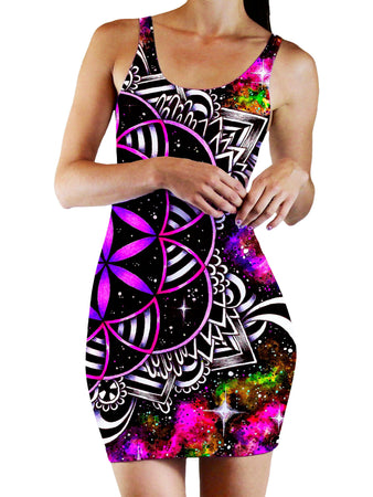 BrizBazaar - Oracle of Life 2.0 Bodycon Mini Dress