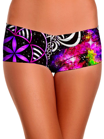 BrizBazaar - Oracle of Life Booty Shorts