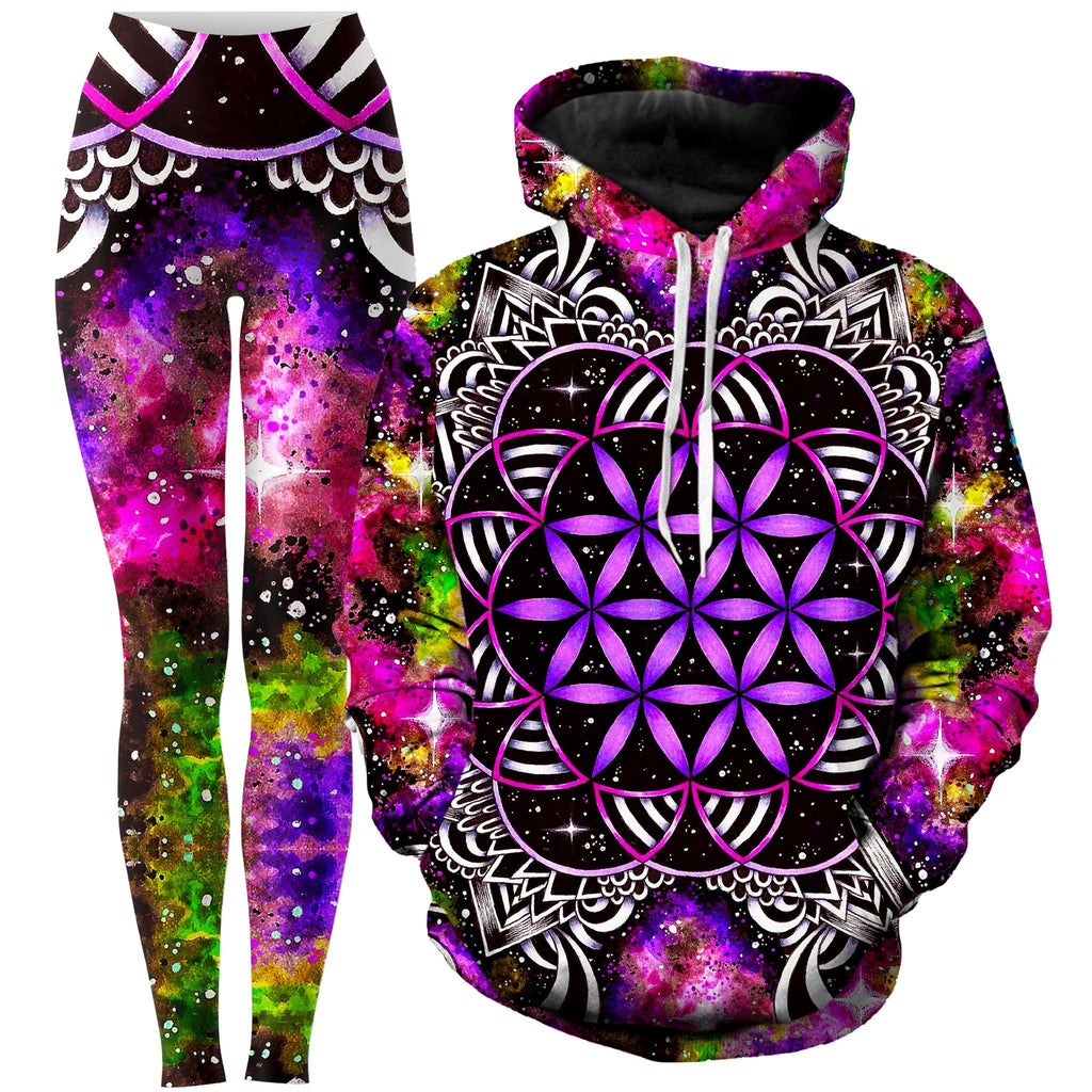 BrizBazaar Oracle of Life Hoodie and Leggings Combo