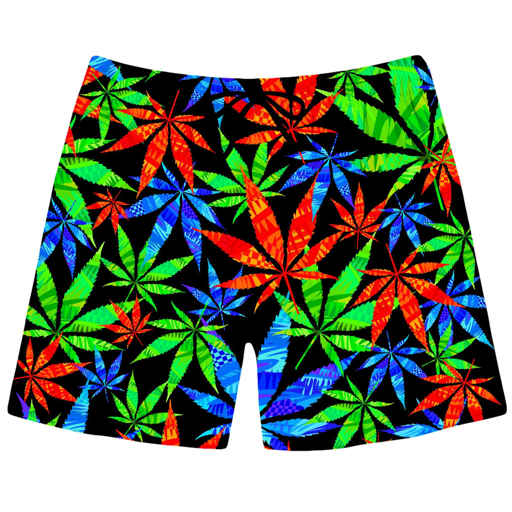 BrizBazaar Weed Swim Trunks