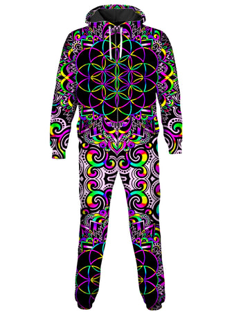 BrizBazaar - White Doodle Magic 2.0 Onesie