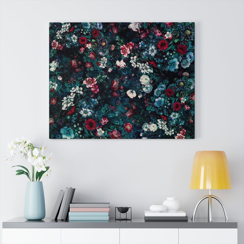 Canvas Neon Land Canvas Gallery Wraps - iEDM