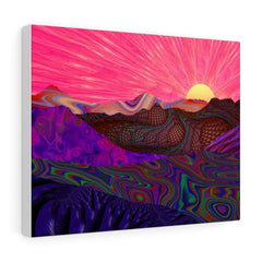 Canvas Trippy Trek Canvas Gallery Wraps - iEDM