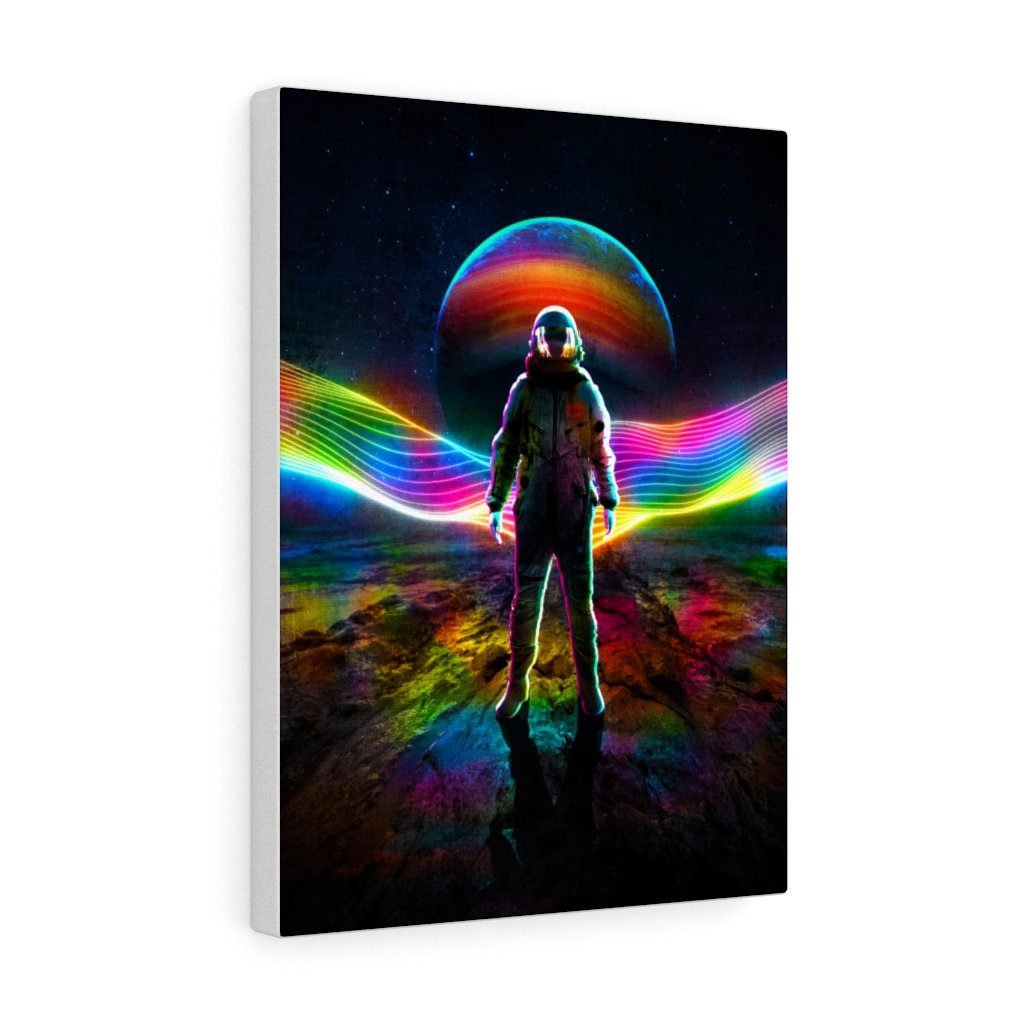 Canvas Wavey Canvas Gallery Wraps - iEDM