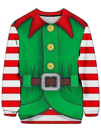 Christmas - Elf Ugly Sweatshirt (Ready To Ship)