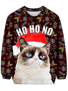 Christmas - Grumpy Cat Ugly Sweatshirt