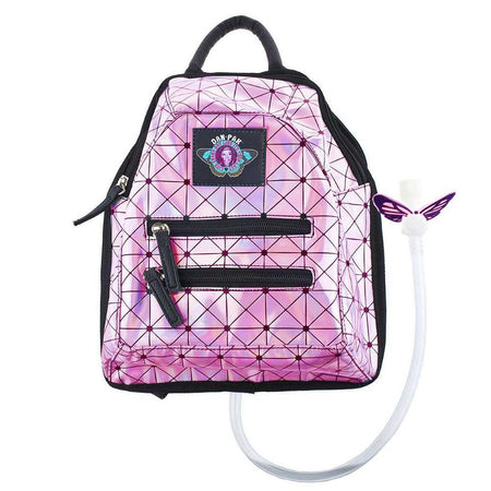 Dan-Pak - Pink Holographic Disco Mini Hydration Pack