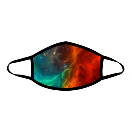 iEDM - Fire and Ice Galaxy Cloth Face Mask
