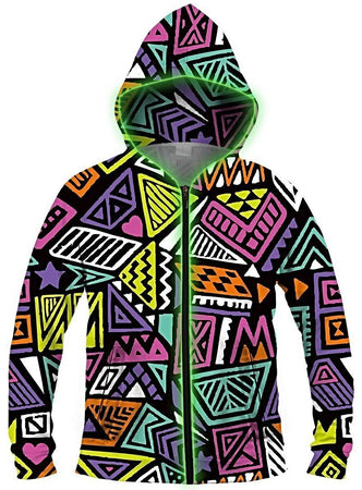 Galaxy Collection - All That & A Bag of Chips Light Up Hoodie