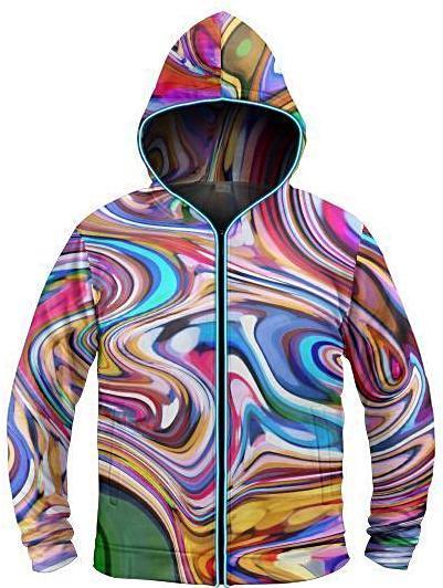 Galaxy Collection Blended Light Up Hoodie - iEDM