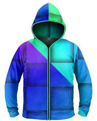 Galaxy Collection Check Mate Light Up Hoodie - iEDM