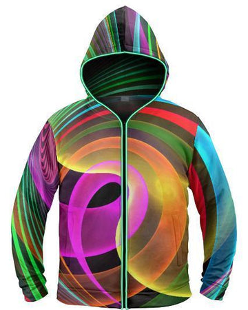 Galaxy Collection - Cray Light Up Hoodie