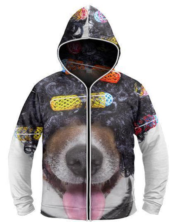 Galaxy Collection - Curl it Up Light Up Hoodie