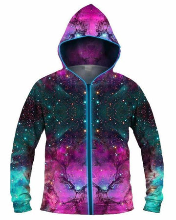 Galaxy Collection - Extraterrestrial Light Up Hoodie
