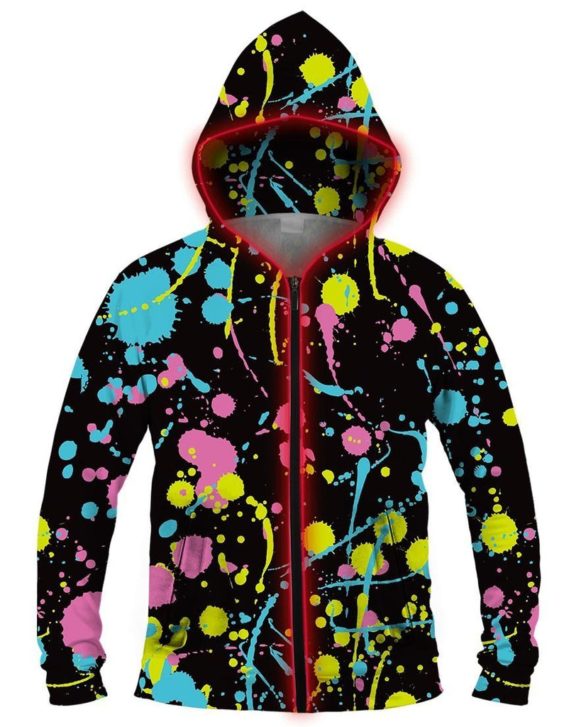 Galaxy Collection Going Postal Light Up Hoodie - iEDM