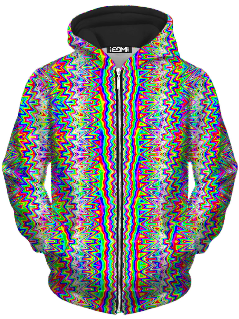 Glass Prism Studios - Psy Trip Unisex Zip-Up Hoodie