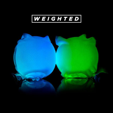 GloFX - LED Sock Poi: 9-Mode Weighted