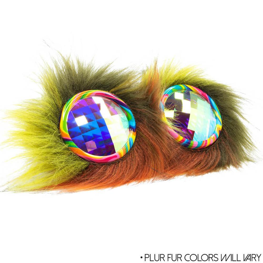 Goggles Furry Party Animal Kaleidoscope Goggles