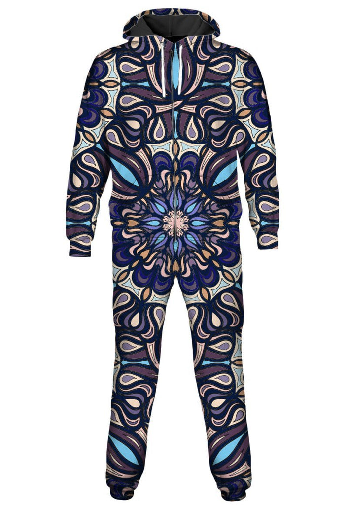 Gratefully Dyed Blue Bells Onesie - iEDM