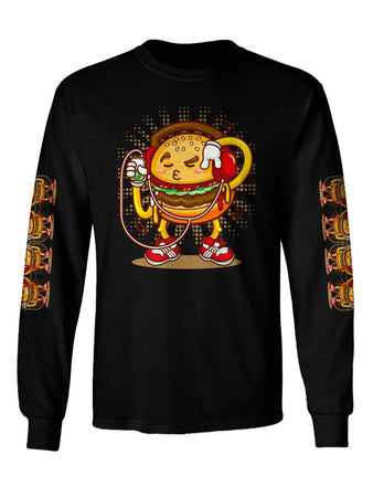 Gratefully Dyed - Boom Burger Long Sleeve