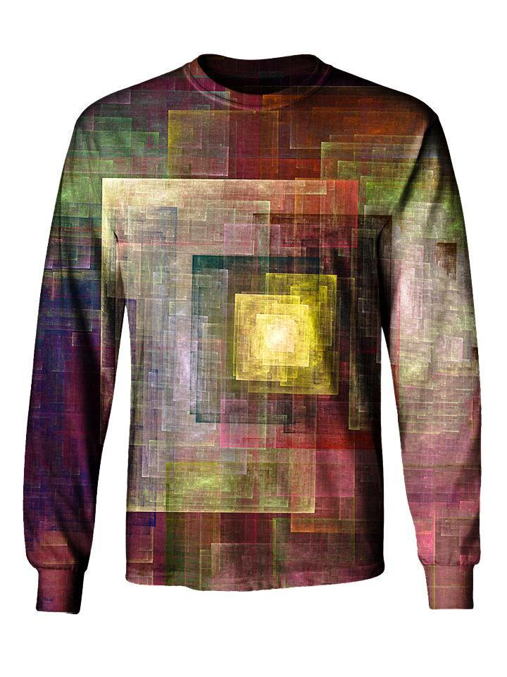 Gratefully Dyed Colorful Impression Long Sleeve