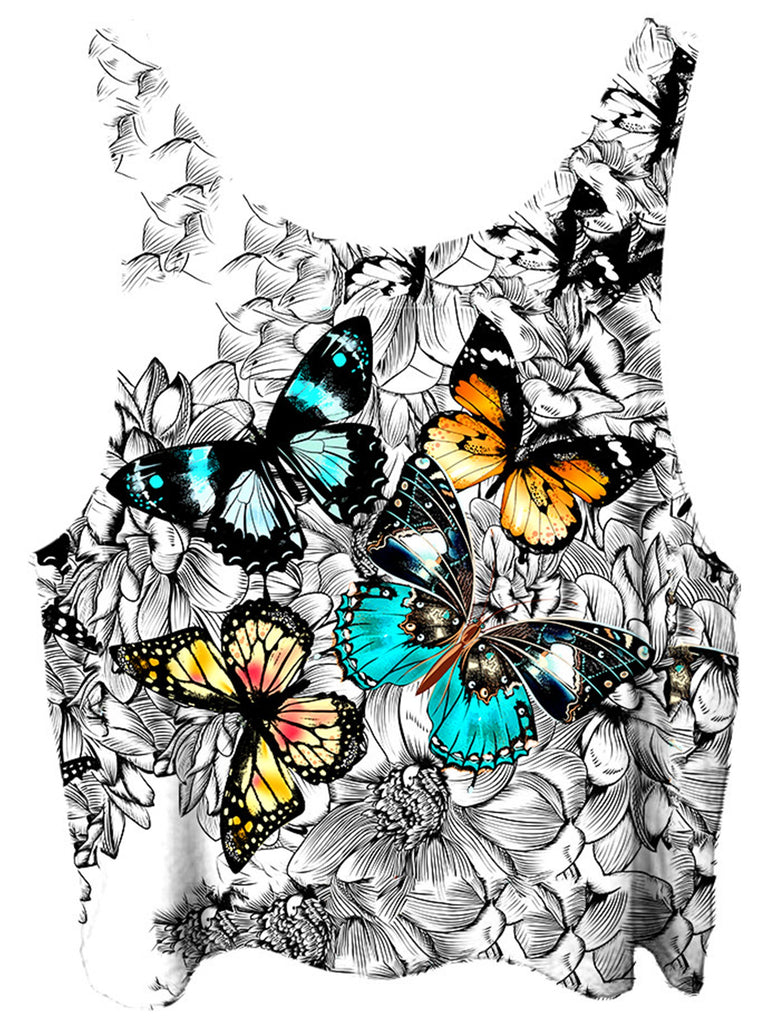 Gratefully Dyed Flutterby Crop Top